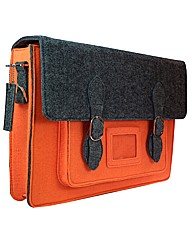 Urban Country Large Felt Satchel