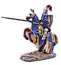 Decorative Knight Figurine Riding Horse