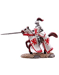 Decorative Knight Riding Horse Figurine