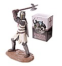 Decorative Knight with Axe Figurine