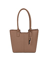 Urban Country Faux Leather Bucket Bag