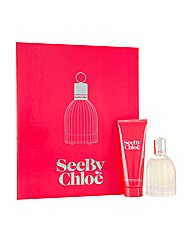 Chloe SeeBy 50ml Edp + 75ml Body Lotion