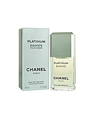 Chanel Platinum Egoiste 50ml Edt for Him