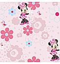 Disney Minnie Spring Walk Wallpaper