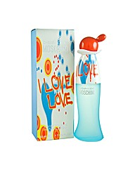 Moschino I Love Love 50ml Edt for Her