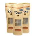 Dove 250ml Summer Glow Light Pack of 3