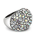Mood Aurora Borealis Stone Stretch Ring
