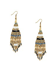 Mood Mixed Bead Drop Earring
