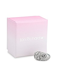 Jon Richard Solitaire Stone Silver Ring