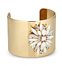Mood Jewelled Gold Cuff Bracelet