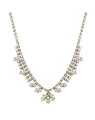 Jon Richard Gold Diamante Necklace