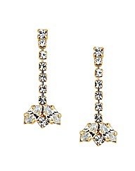 Jon Richard Diamante And Navette Earring