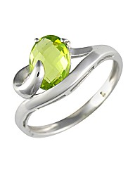 9ct Peridot Ring