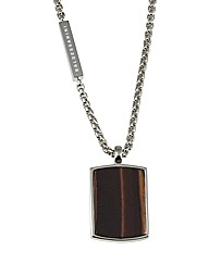 Sterling Silver and Tigers Eye Necklace