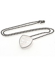 Arsenal S/Steel Pendant & Chain