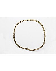 Ladies 9ct Rolled Gold Curb Necklace