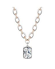 Jon Richard Crystal Pendant Necklace