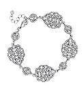 Jon Richard Crystal Link Bracelet
