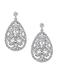Jon Richard Multi Stone Drop Earring
