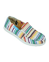 Ladies Fleetwood Multi Stripe Shoe