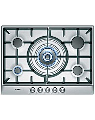 Bosch Built In Stainless Steel Gas Hob