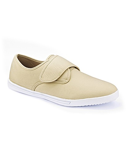 southbay mens canvas shoes ex wide fit premier