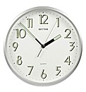 "Rhythm 10"" Kitchen Clock/SILV/luminous"
