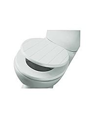 Shaker Style Toilet Seat  White