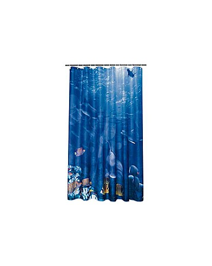 Ocean Polyester Shower Curtain
