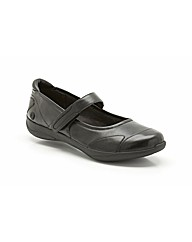 Clarks Womens Etna Lime Extra Wide Fit