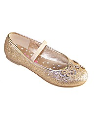 Sparkle Club Gold Glitter Shoes