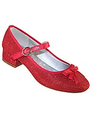 Sparkle Club Red Glitter Shoes