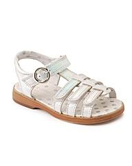 Start-rite Summer Shimmer Silver Fit F