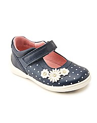 Start-rite Supersoft Daisy Navy Fit H