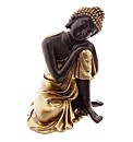 Thai Buddha Figure Resting Head on Knee