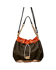 Henley Emily Shoulder Drawstring Bag
