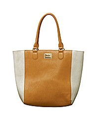 Henley Suzy Contrast Panel Shopper Bag