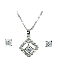 Ladies Square Necklace