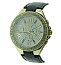 Golddigga Ladies Strap Watch