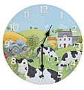 Jan Pashley Cows Picture Clock