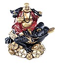 Chinese Buddha Sat on Wealth Toad