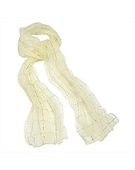 Petal Dolls Checked Scarf