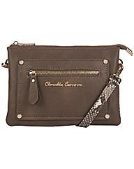 Claudia Canova Zip Top Pocketed Cross