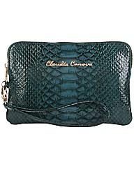 Claudia Canova Wrist Strap Snake Print
