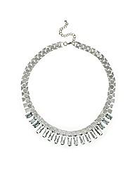 Mood Baguette Stick Drop Necklace