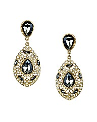 Mood Statement Crystal Drop Earring