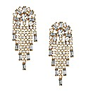 Mood Diamante Shower Drop Earring