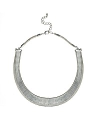 Mood Silver Expander Chain Necklace