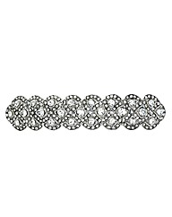 Mood Crystal Embellished Hair Barrette
