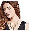 Mood Diamond Shaped Multi Drop Necklace